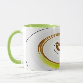 Green examined mug