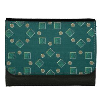 Green examined wallet