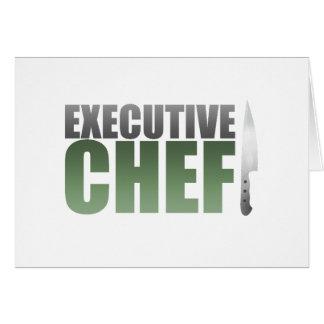 Green Executive Chef Card