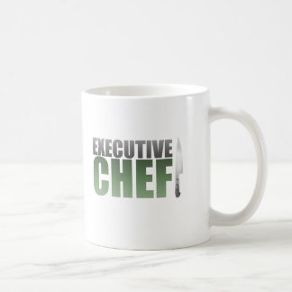 Green Executive Chef Coffee Mug