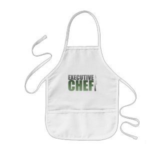Green Executive Chef Kids' Apron