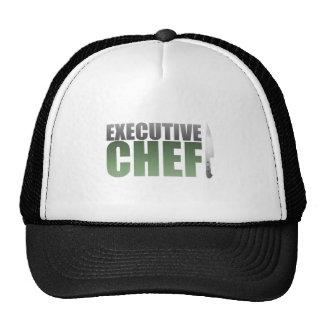 Green Executive Chef Trucker Hat