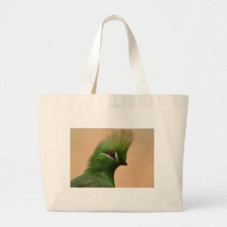 Green Exotic Bird Tote Bag