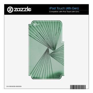 Green Explicit Focused Love iPod Touch 4G Decal