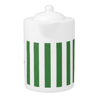 Green Exuberant Quiet Right Teapot