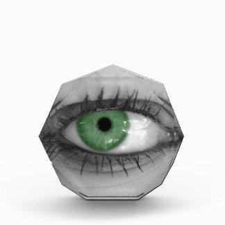 Green Eye Acrylic Award