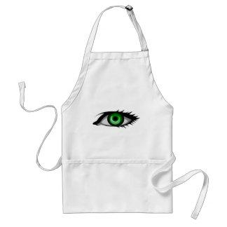 Green Eye Adult Apron