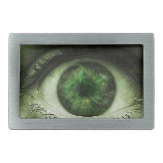 Green Eye Belt Buckle