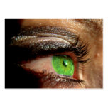 Green Eye Business Card Templates