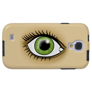 Green Eye icon Galaxy S4 Case