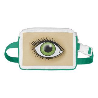 Green Eye icon Waist Bag