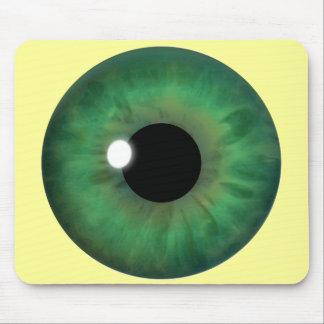 Green Eye Iris Custom Cool Mousepad Mousemats