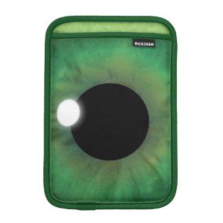 Green Eye Iris Vertical iPad Mimi Sleeve Covers