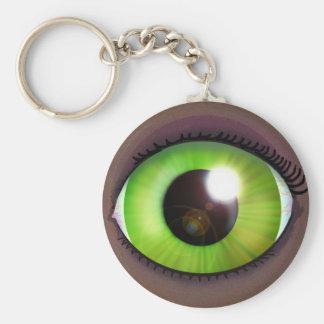 Green Eye Key Chains