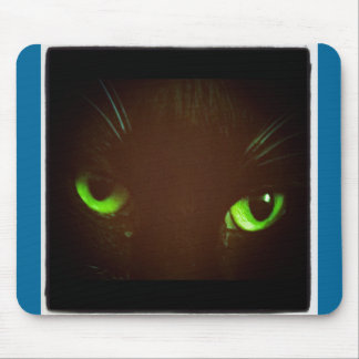 Green Eye Lucy Mouse Pad