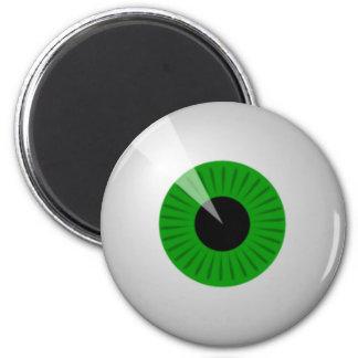 Green Eye Refrigerator Magnet