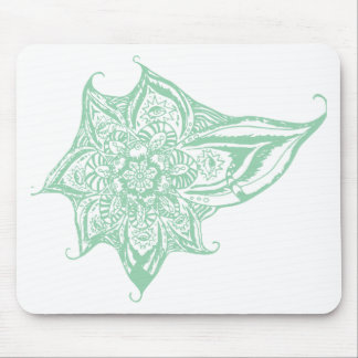 Green Eye Mandala (Singular) Mouse Pad