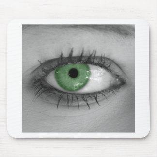 Green Eye Mouse Pad