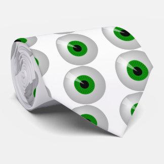 Green Eye Neck Tie