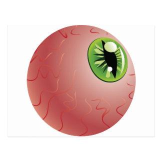 Green Eye of a Monster Postcard