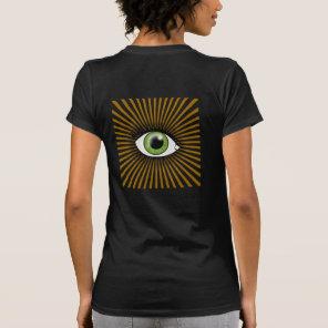 Green Eye of Horus T-Shirt
