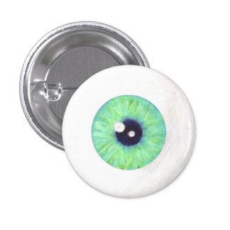 Green Eyeball Button