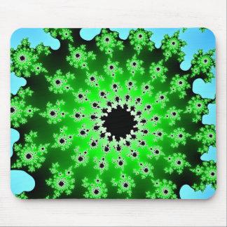 Green Eyeball Mousepad