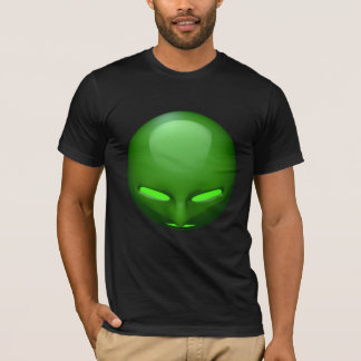 Green-Eyed 3d Face T-Shirt