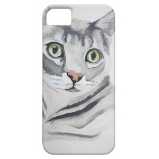 Green Eyed Cat ! iPhone SE/5/5s Case
