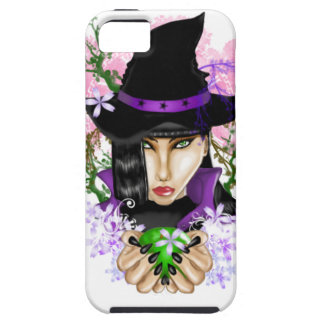 Green-Eyed Healing Witch iPhone 5 Covers