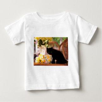 Green Eyed Kitten Stilllife Infant T-shirt