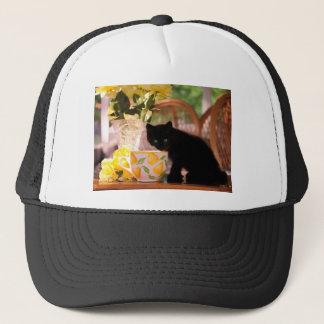 Green Eyed Kitten Stilllife Trucker Hat