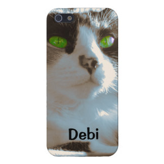 Green-eyed Lady iPhone 5 Case
