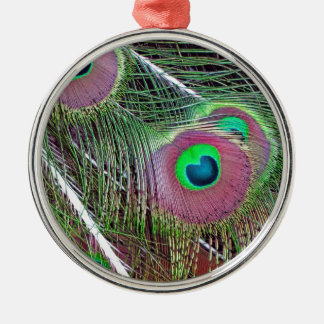 Green Eyed Majesty Metal Ornament