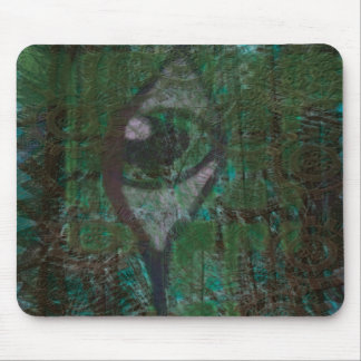 Green Eyed Monster Mouse Pad