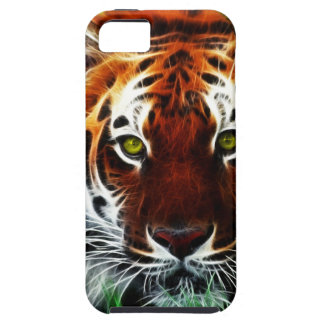 Green eyed Tiger iPhone 5 Covers