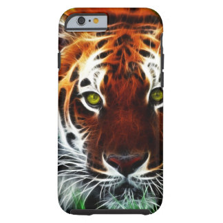 Green eyed Tiger Tough iPhone 6 Case