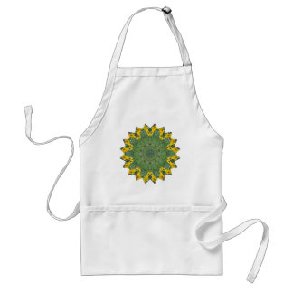 Green Eyed View Adult Apron