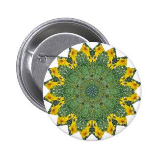 Green Eyed View Pin