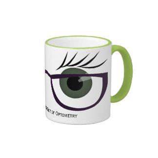 Green Eyes and Glasses Coffee Mug