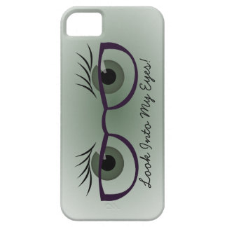 Green Eyes and Glasses iPhone SE/5/5s Case