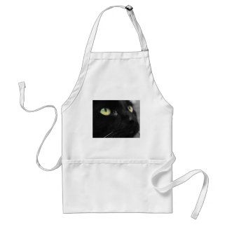 Green Eyes - Black Cat Aprons