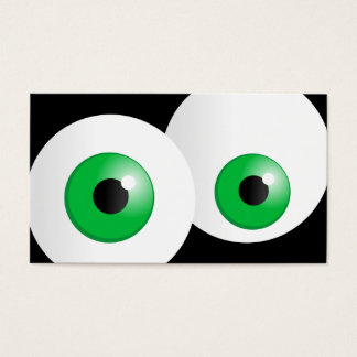 Green Eyes Business Card