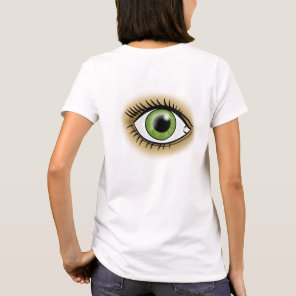 Green Eyes icon T-Shirt