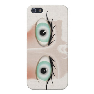 Green Eyes iPhone SE/5/5s Case