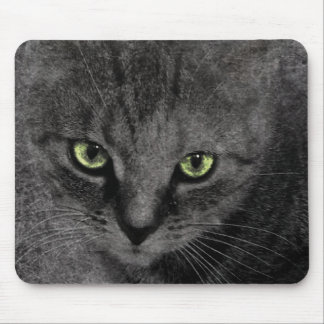 Green Eyes Mouse Pad