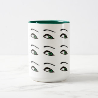 Green Eyes Mug