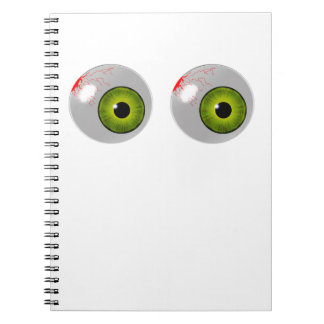 green eyes notebook