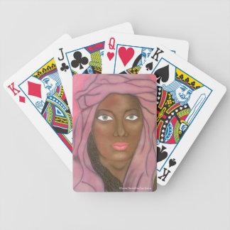 Green Eyes Of Karo Playing Cards