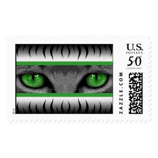Green Eyes Postage